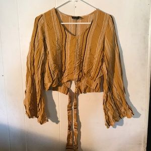 Rue21 bliss with flared sleeves.